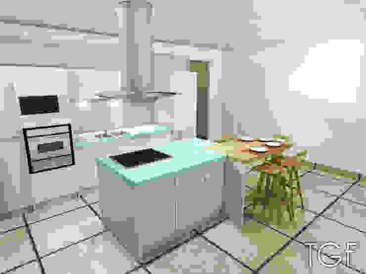 Modern Mutfak Tiffany FAYOLLE Modern