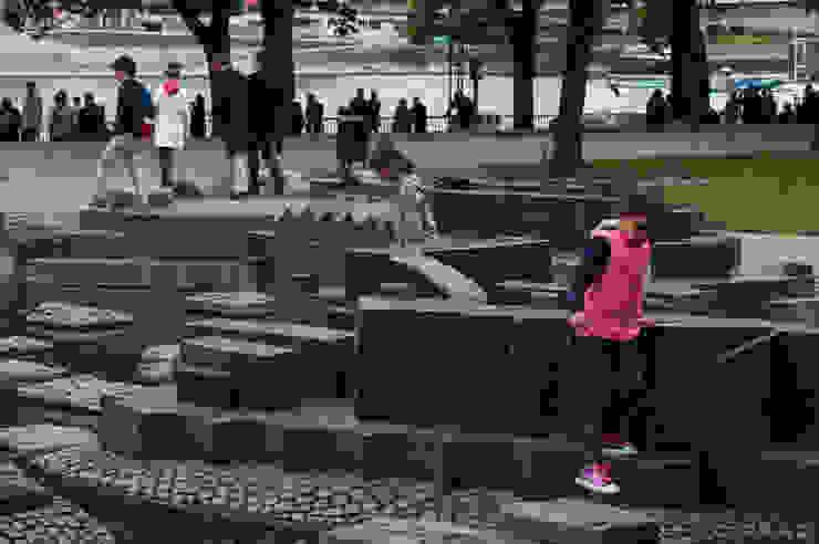 건축의 본연,풍경을 담아낸 쉘터(shelter) 러스틱스타일 정원 by SHIN 러스틱 (Rustic)