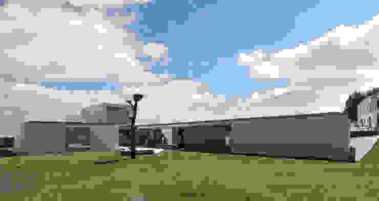Casa em Carapeços Casas minimalistas por 3H _ Hugo Igrejas Arquitectos, Lda Minimalista