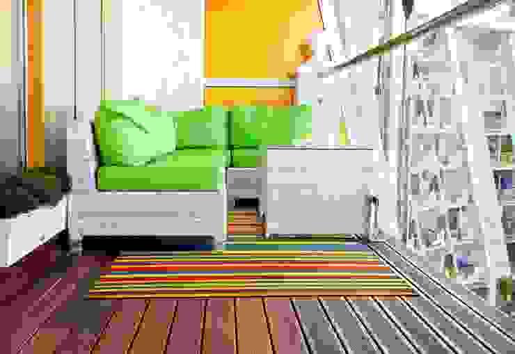Outdoor Plastic Funzie Rug: modern  by Green Decore, Modern Plastic