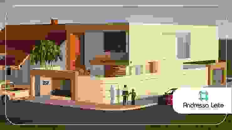Reforma Ousada Casas modernas por Andressa Leite Arquitetura e Iluminação Moderno