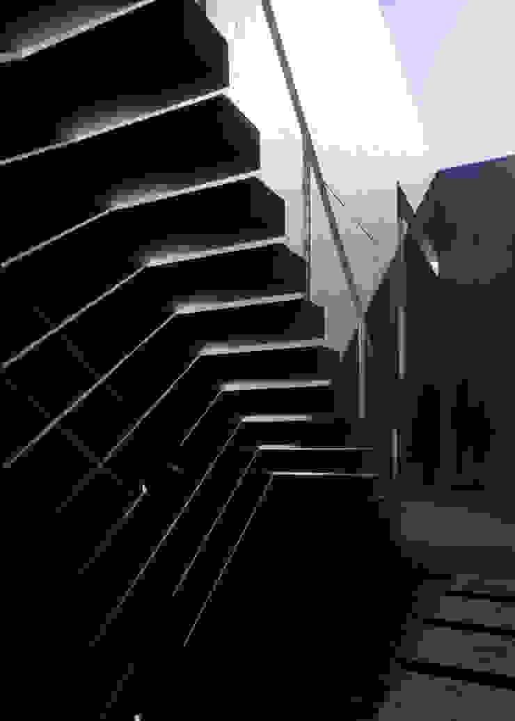 影 モダンデザインの テラス の 本田建築設計事務所 モダン