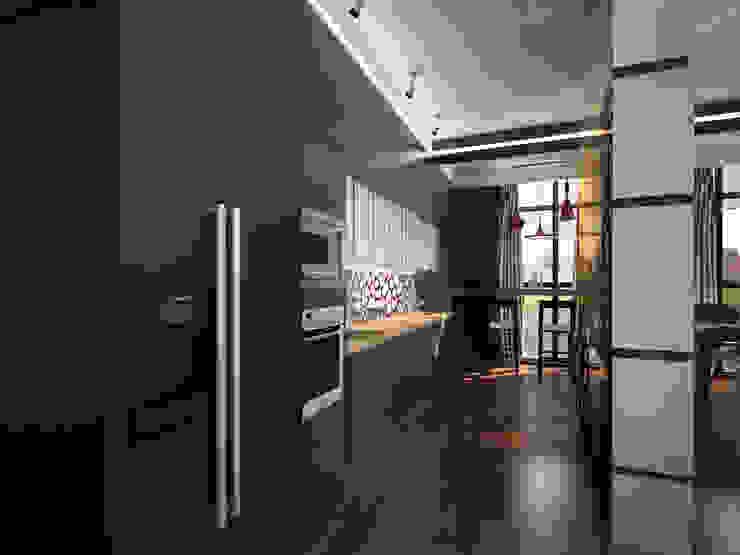 эклектика современности Кухни в эклектичном стиле от Decor&Design Эклектичный
