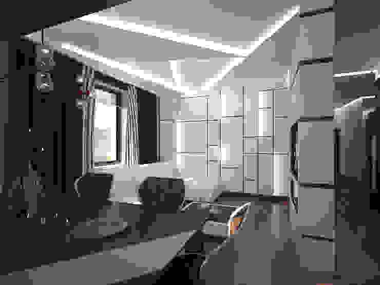эклектика современности Гостиные в эклектичном стиле от Decor&Design Эклектичный