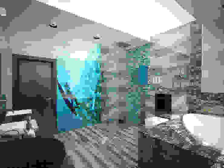 эклектика современности Ванная комната в эклектичном стиле от Decor&Design Эклектичный
