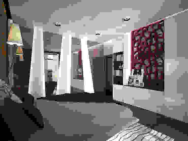 эклектика современности Спальня в эклектичном стиле от Decor&Design Эклектичный