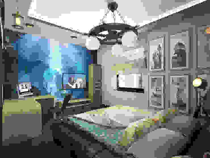 эклектика современности Детские комната в эклектичном стиле от Decor&Design Эклектичный