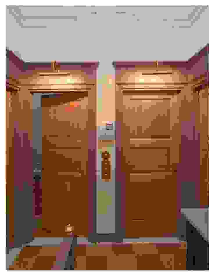 Andrea Pacciani Architetto Corridor, hallway & stairsLighting