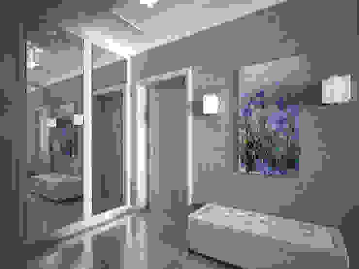 лавандовый уют Коридор, прихожая и лестница в модерн стиле от Decor&Design Модерн