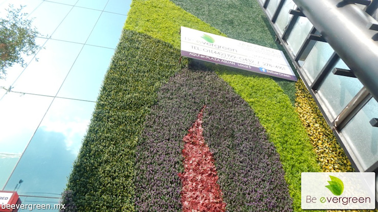 Muros Verdes Paredes y pisos de estilo moderno de Be EverGreen Moderno
