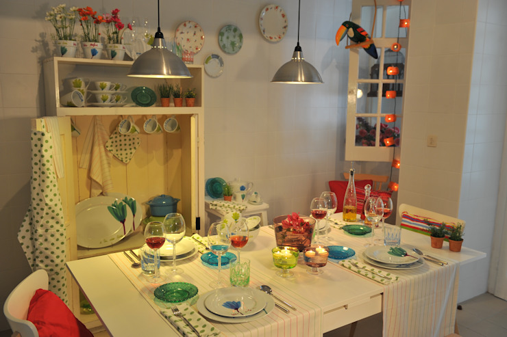 Casa Alegre KitchenCutlery, crockery & glassware Porselen Multicolored