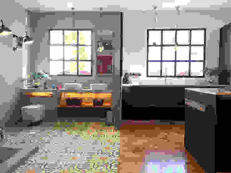 인더스트리얼 욕실 by CONTRACT SOLUTIONS 인더스트리얼