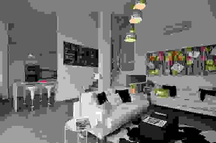 Residência Privada Vilamoura Salas de estar modernas por Leonor Moreira Romba - Arquitecturas Moderno