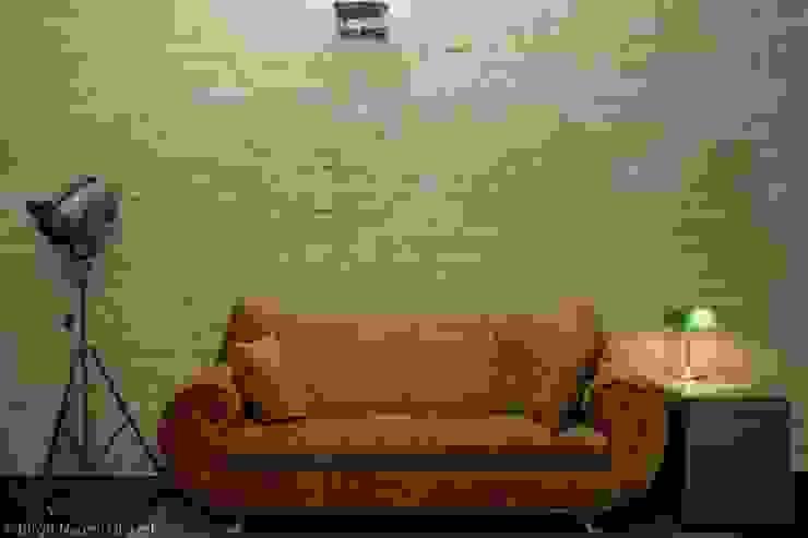 Birgit Glatzel Architektin Eclectic style study/office Amber/Gold