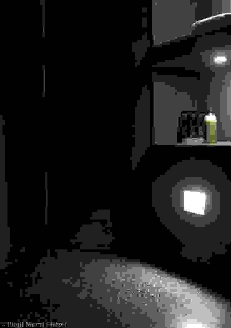 Birgit Glatzel Architektin Eclectic style bathroom Black