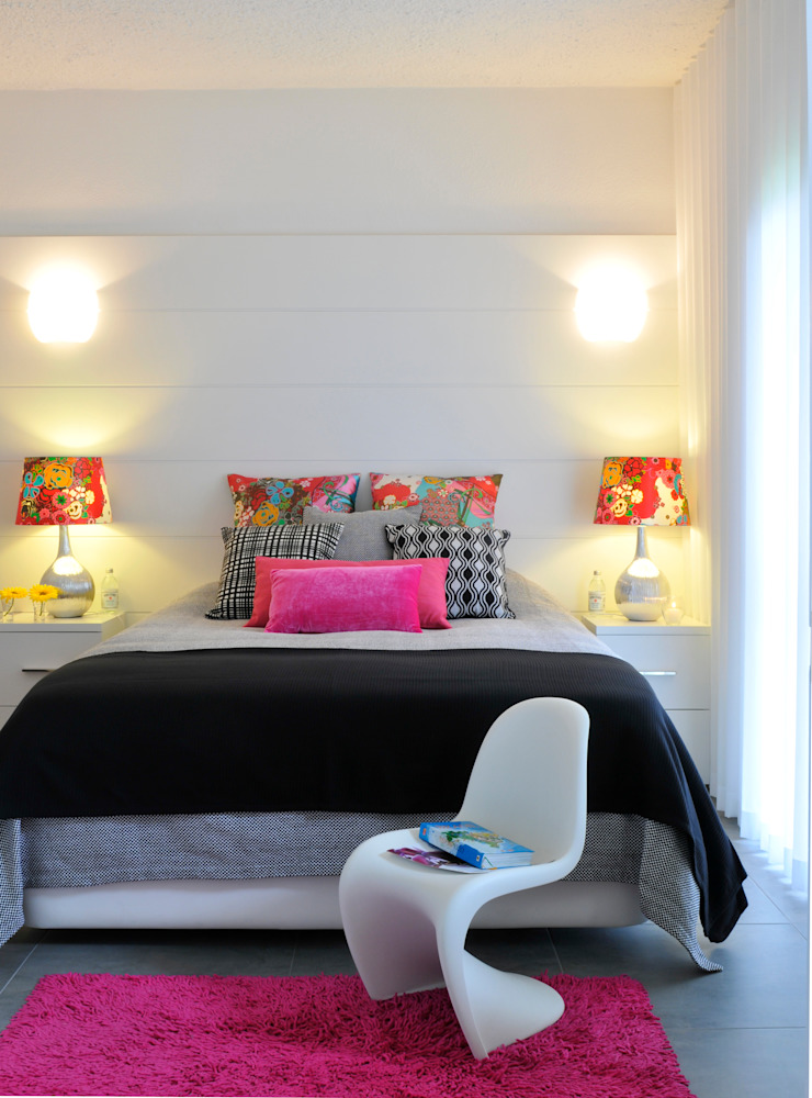 Private Residence in Vilamoura Modern style bedroom by Leonor Moreira Romba - Arquitecturas Modern