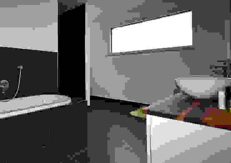 Minimalist style bathroom by hilzinger GmbH - Fenster + Türen Minimalist