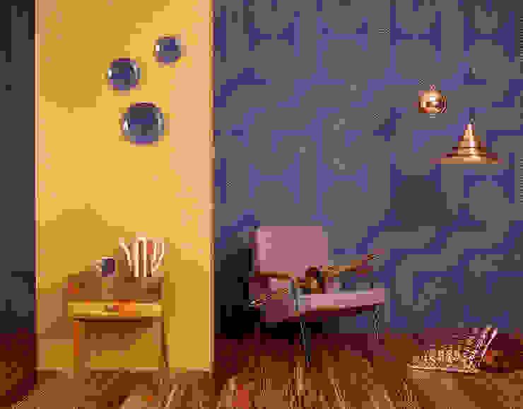 Murs & Sols de style  par Disbar Papeles Pintados