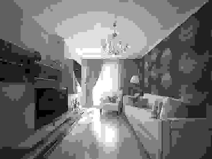 лавандовый уют Гостиная в стиле модерн от Decor&Design Модерн