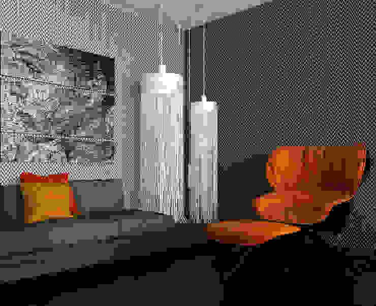 ALEXANDER ZHIDKOV ARCHITECT Salones minimalistas