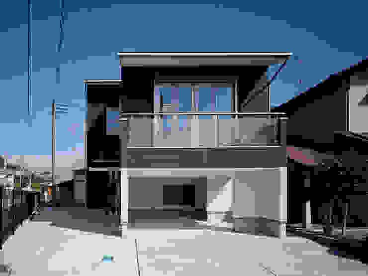 山本邸 モダンな 家 の 有限会社 空間計画研究所・佐藤万芳 モダン