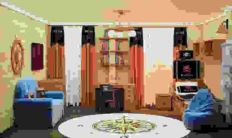 ООО ПрофЭксклюзив Студия дизайна интерьеровが手掛けた子供部屋, オリジナル