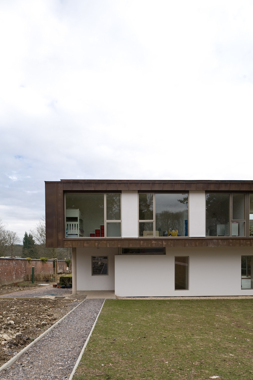 Corner of House The Chase Architecture Будинки Мідь / Бронза / Латунь Коричневий