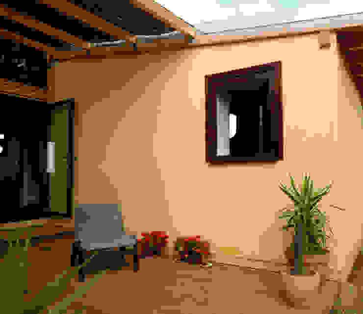 Casa em palha Casas modernas por Terrapalha Moderno