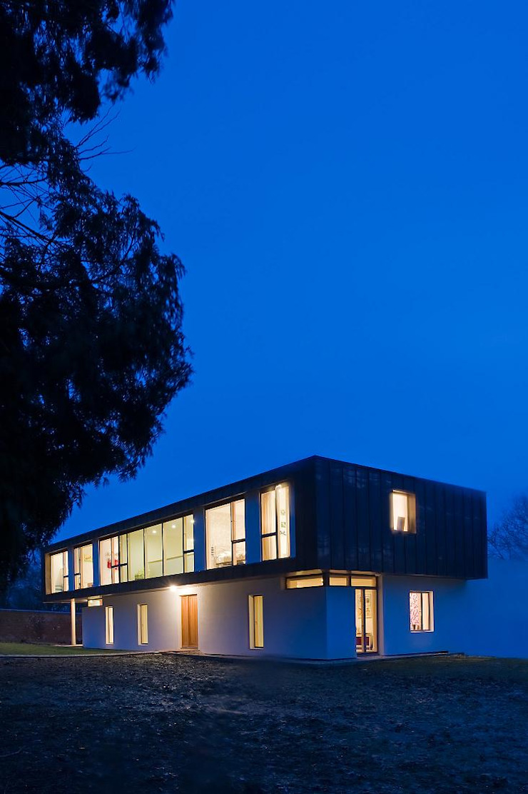 Groveside House The Chase Architecture Modern home Copper/Bronze/Brass Black