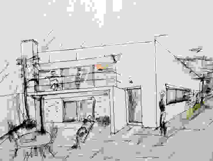 Casa Marcos Loureiro Arqtª Manuela Soutinho Casas modernas