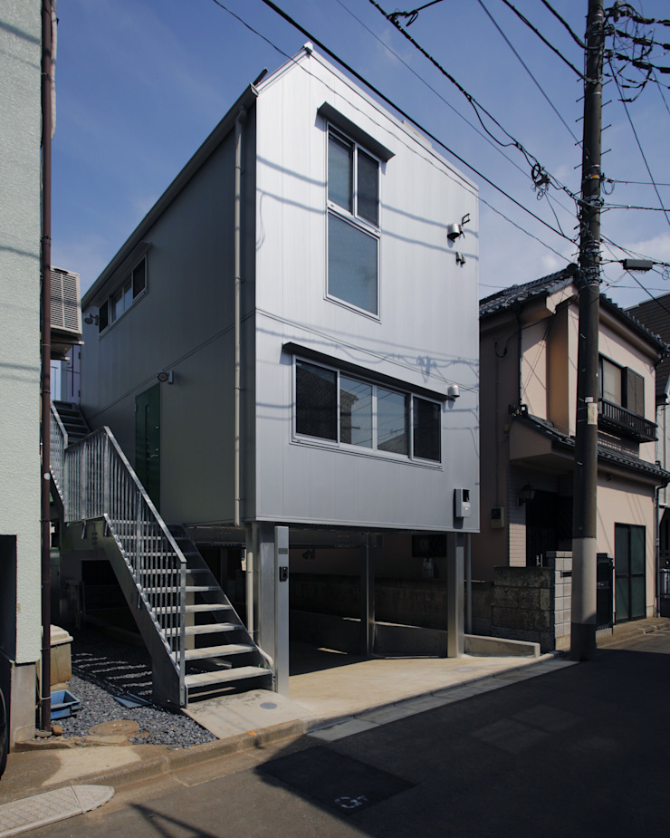M house モダンな 家 の 有限会社 空間計画研究所・佐藤万芳 モダン