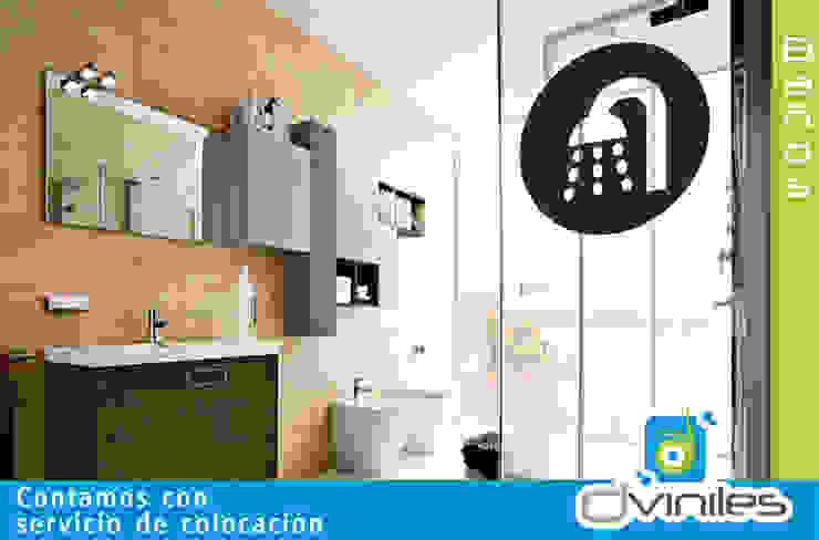 Viniles: Baños de estilo  por IMPREXA, Moderno