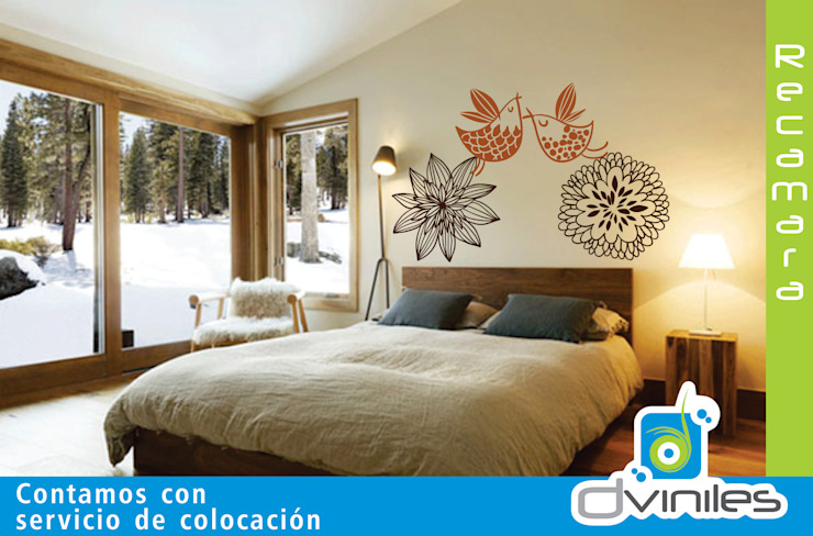 Viniles Dormitorios modernos de IMPREXA Moderno
