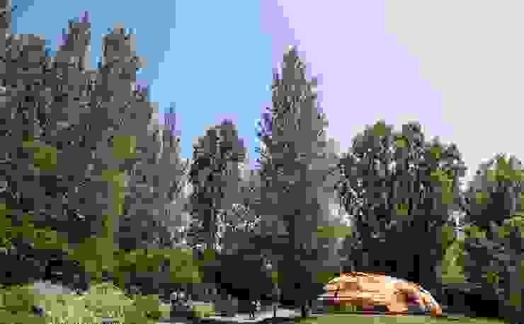 A Cabana Jardins modernos por Terrapalha Moderno