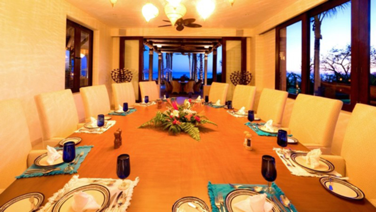 Casa Siete Comedores tropicales de BR ARQUITECTOS Tropical