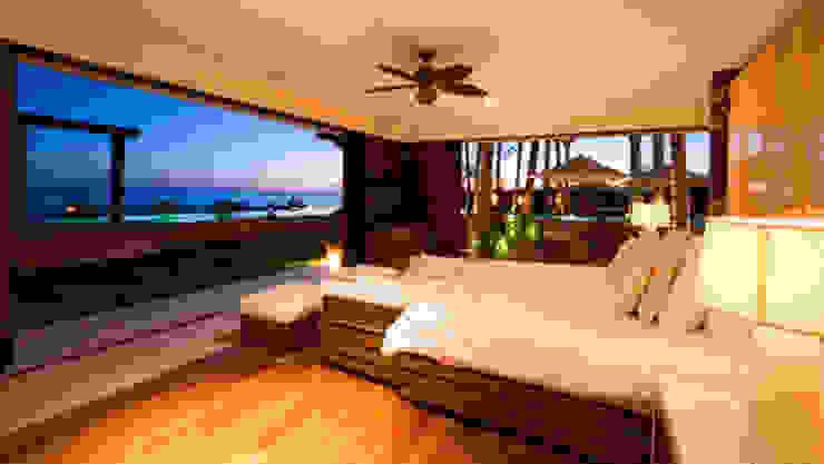 Casa Siete Cuartos de estilo tropical de BR ARQUITECTOS Tropical