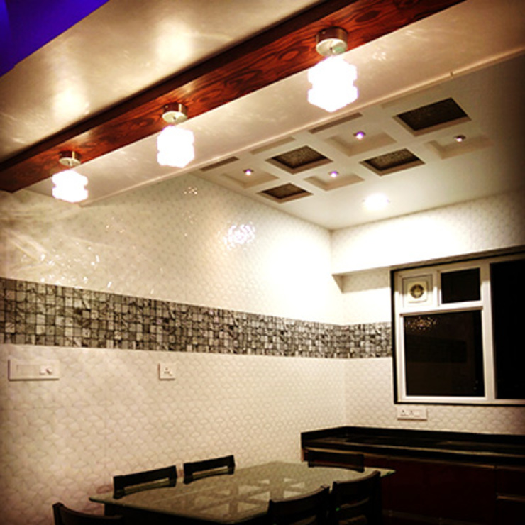 Interior works: modern  by Envoy Interiors Pvt ltd,Modern Tiles