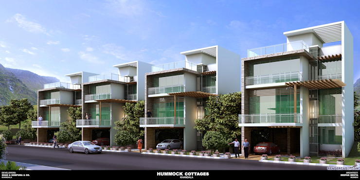 Deepak Mehta Architect Casas modernas