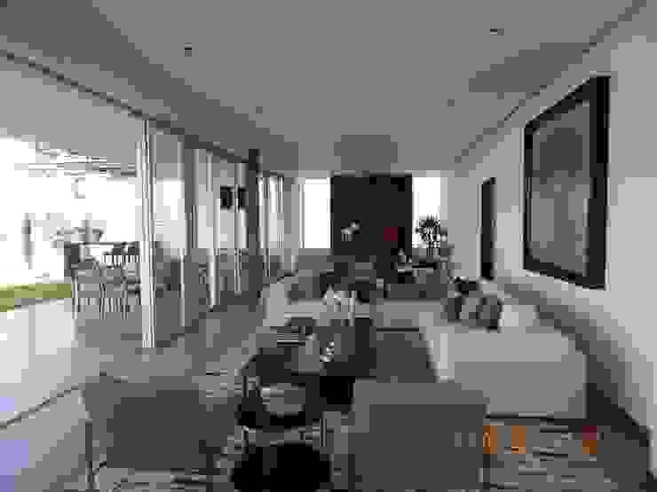 Casa UP + Interior Salones minimalistas de Artico Design & Builders Minimalista