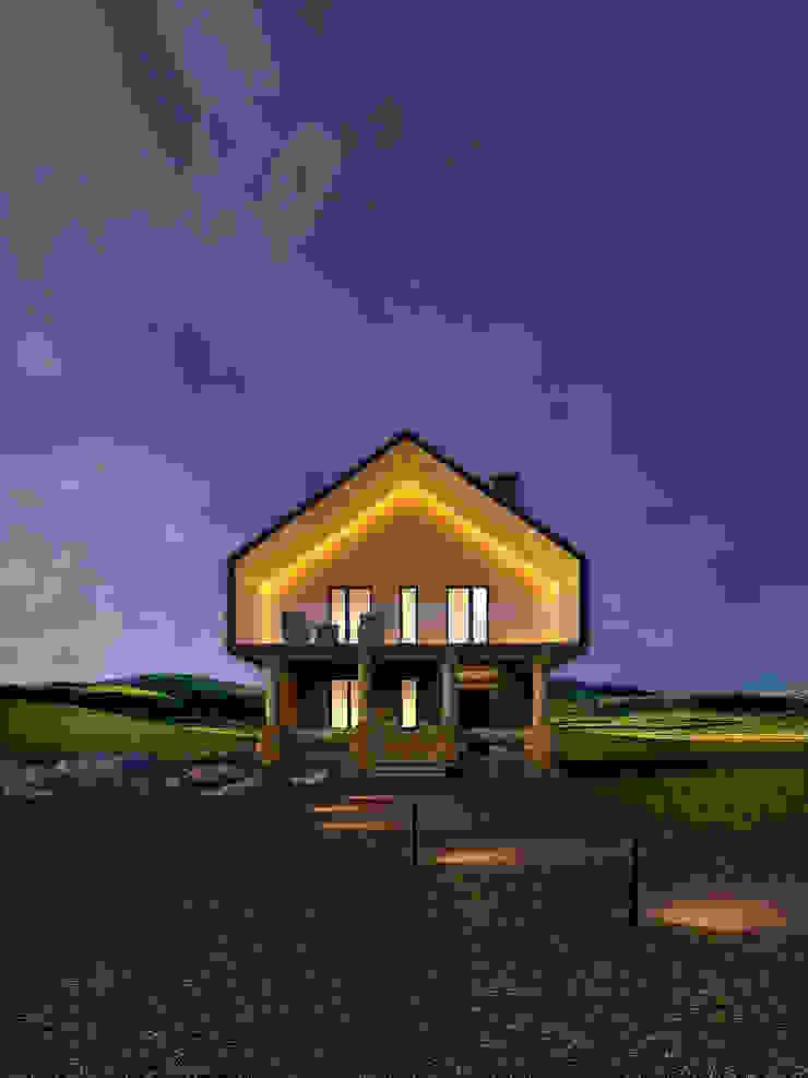 Гостевые домики Дома в эклектичном стиле от Dmitriy Khanin Эклектичный Дерево Эффект древесины
