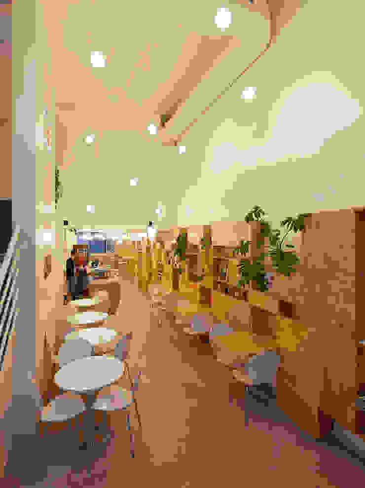 Minimalist dining room by IR arquitectura Minimalist Wood Wood effect