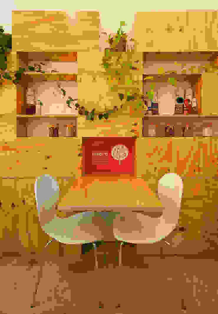 minimalist  by IR arquitectura, Minimalist Wood Wood effect