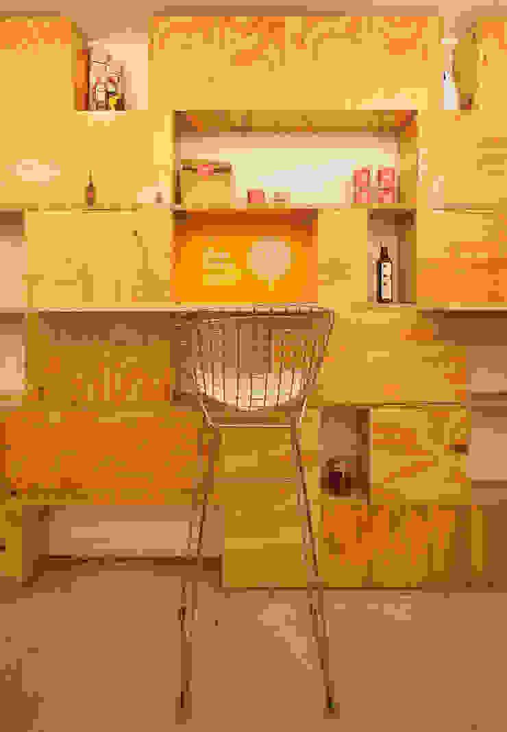 par IR arquitectura Minimaliste Bois Effet bois
