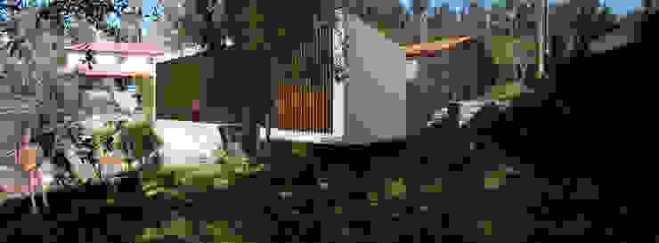 Casa D´Oliveira – Turismo Rural Hotéis rústicos por GAUDIprojectos Rústico
