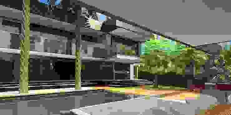 Área de Lazer Casas tropicais por Simone Flores Arquitetos & Associados Tropical