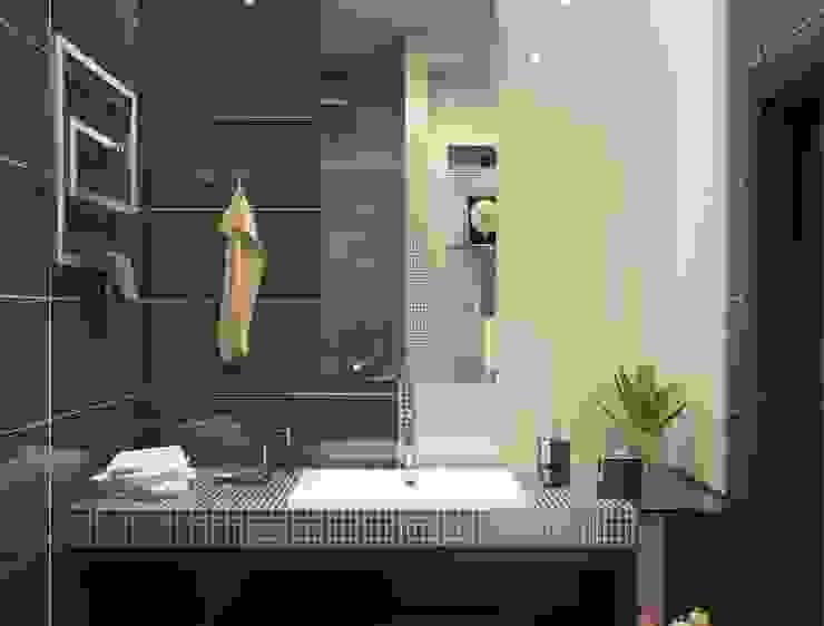 모던스타일 욕실 by Astar project 모던