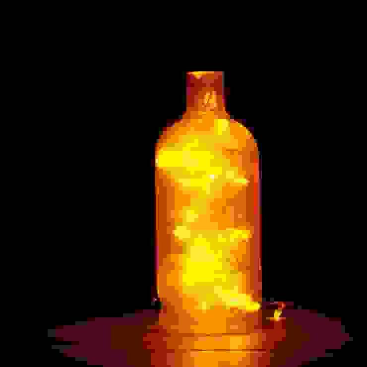 LAMPBADA DESIGN LAMP Interior landscaping Glass Amber/Gold