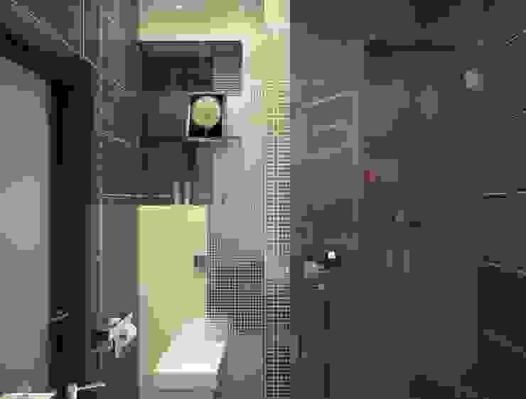 Линии воды Ванная комната в стиле модерн от Astar project Модерн
