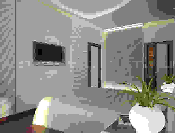 Линии воды Спальня в стиле модерн от Astar project Модерн