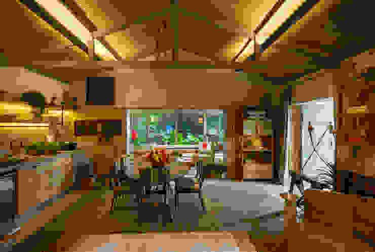 Marina Linhares Decoração de Interiores:  tarz Oturma Odası,